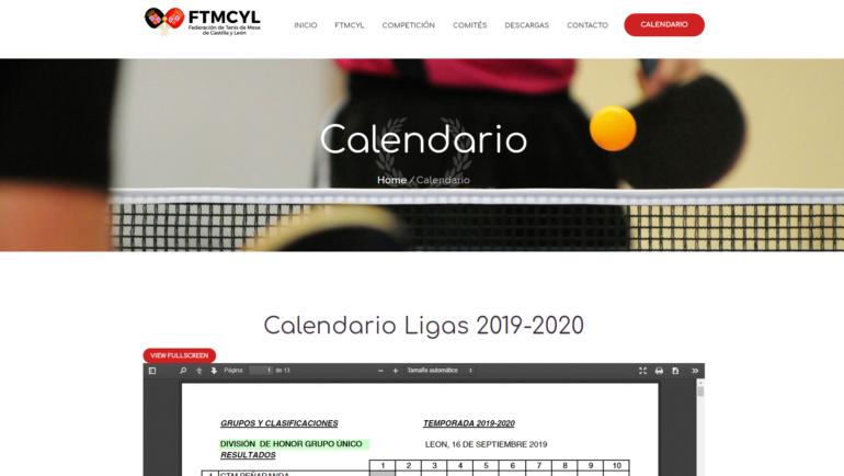 Finalización de actualización de la nueva página web